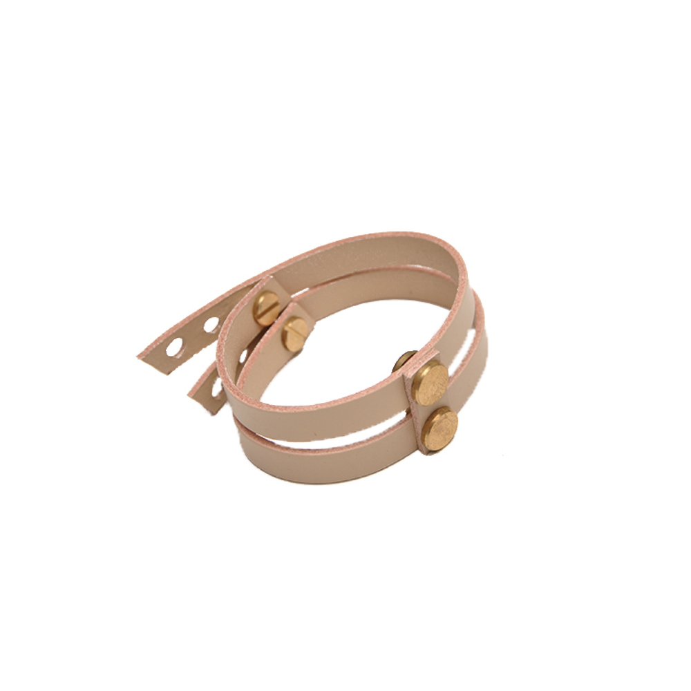 Image of AUMORFIA - LINEAR_A_DT CUFF (NUDE)