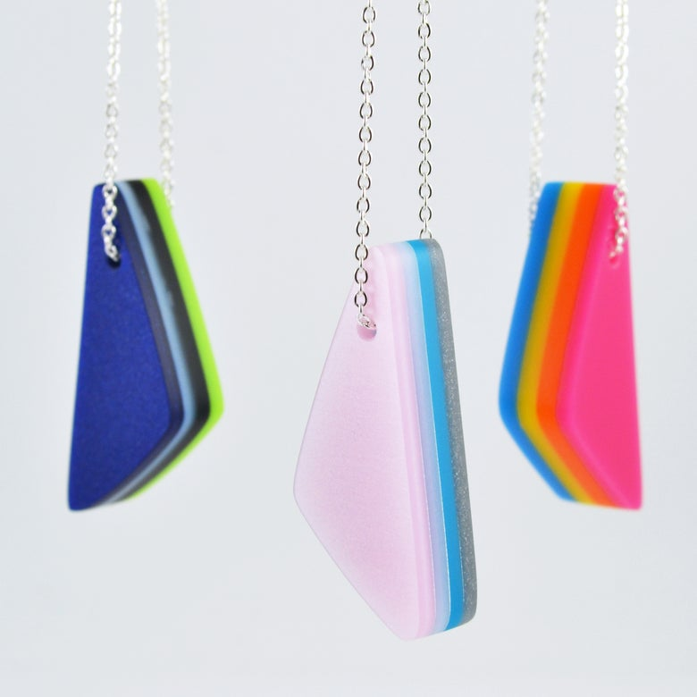 Image of Little Layered Lump Necklace
