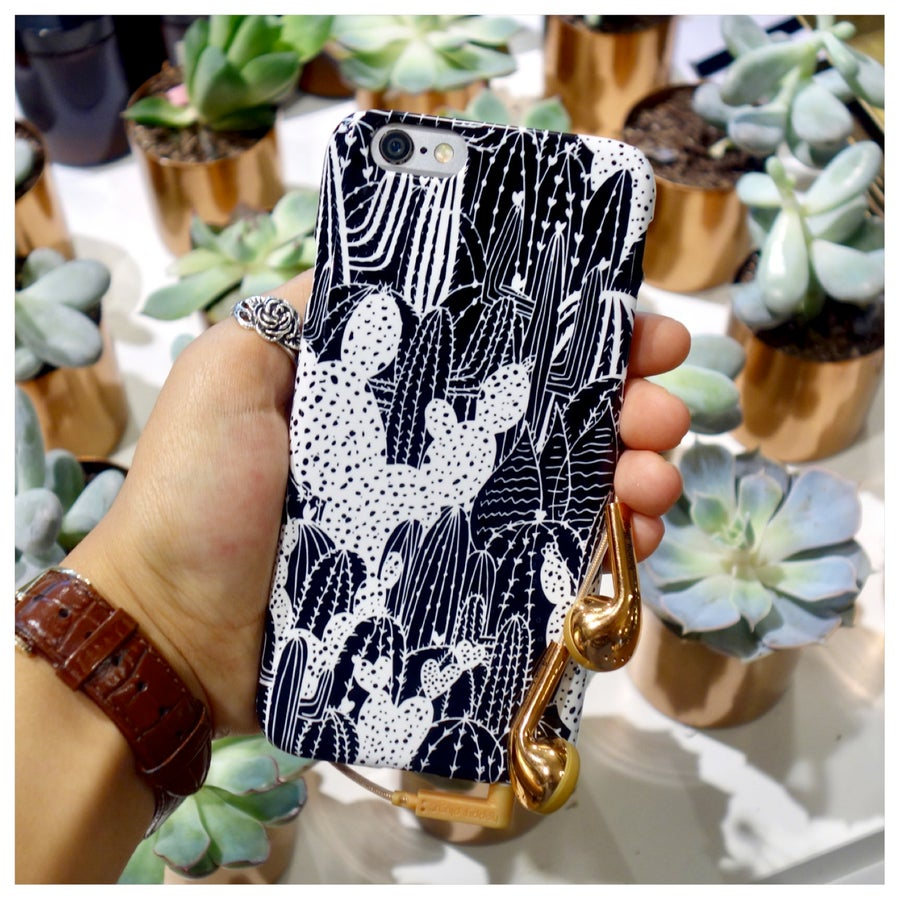 Image of I'm Stuck On You Cactus Phone Case