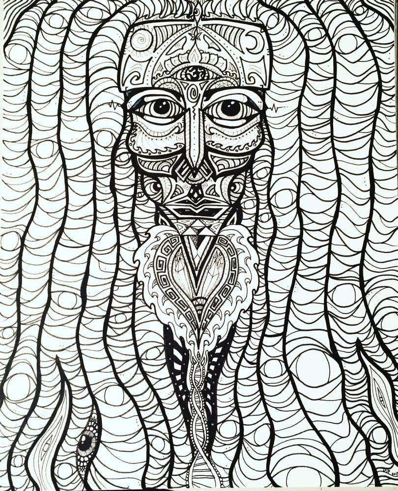 Image of Dread Mystic print