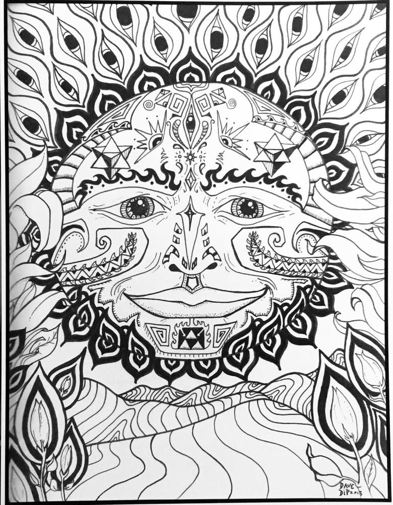Image of Enlightened Sun print