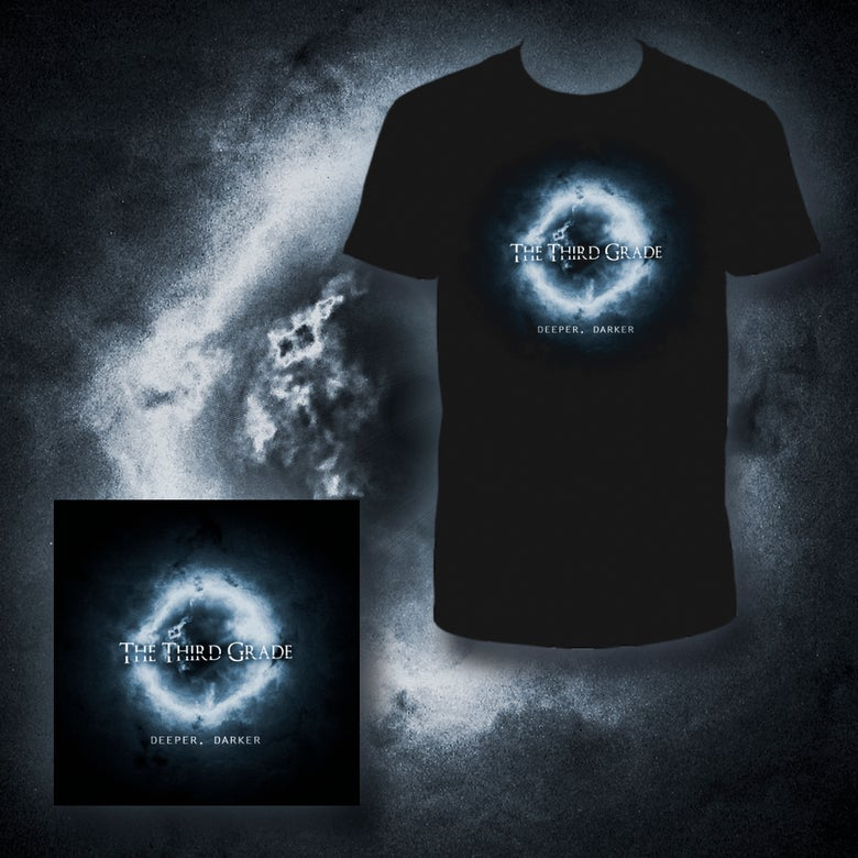 "Image of Pack ""Deeper, Darker"" Cd + T-shirt"