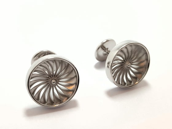 Image of Jet Engine Cufflinks