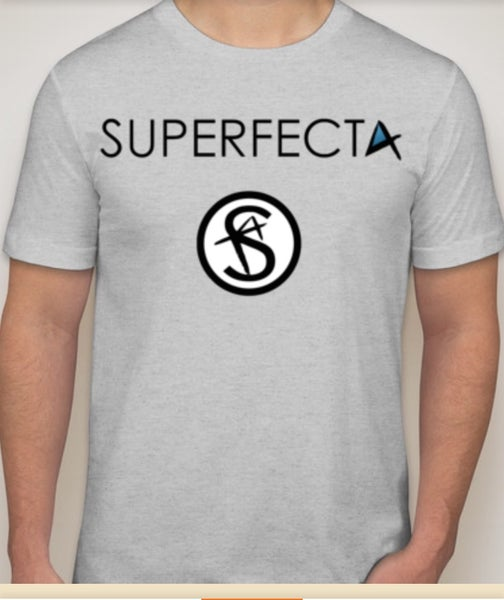 Image of Superfecta - Ash Logo T-Shirt
