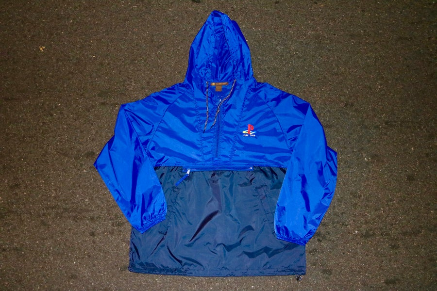 Image of PS TWO TONE WINDBREAKER BLUE/NAVY