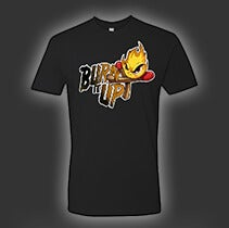 Image of Black Men's Tultex T-Shirt