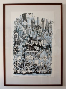 "Image of ""Newcastle"" Screen Print"
