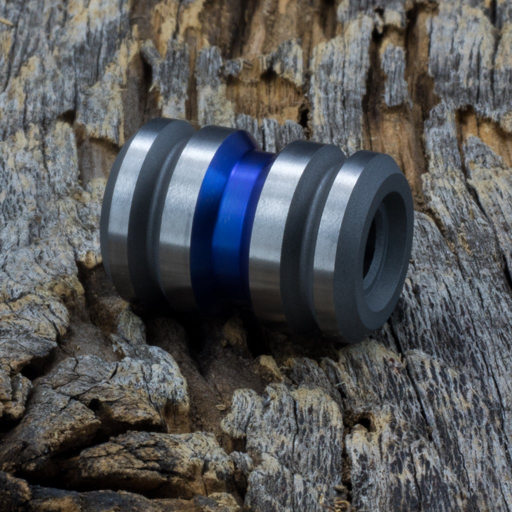 Image of Tank Thin Blue Line Ti Bead