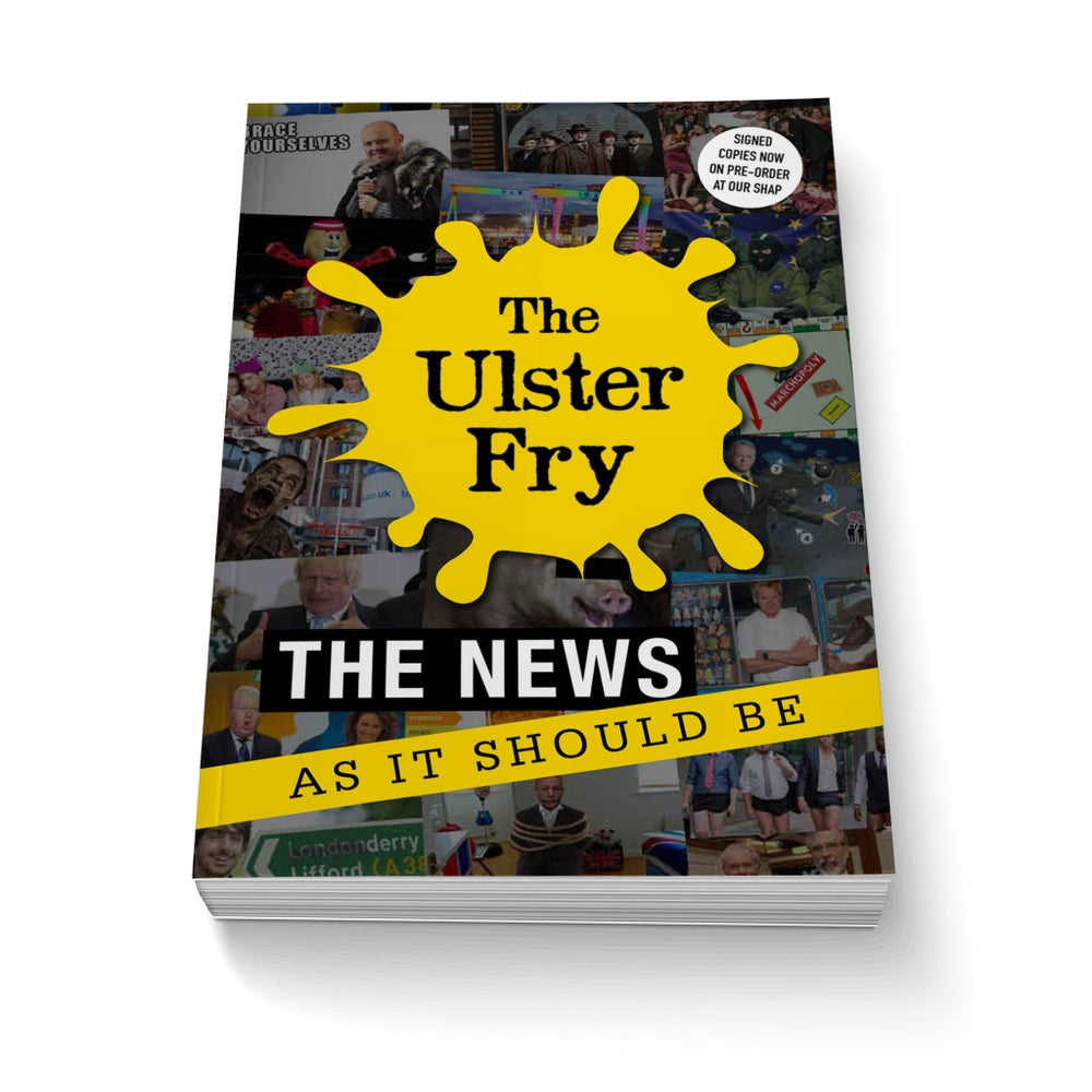 Image of The Ulster Fry  (2016 - Author Signed - Limited Edition)