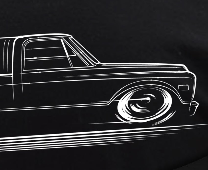 Image of 2nd Gen C10 Truck T-Shirts Hoodies Banners