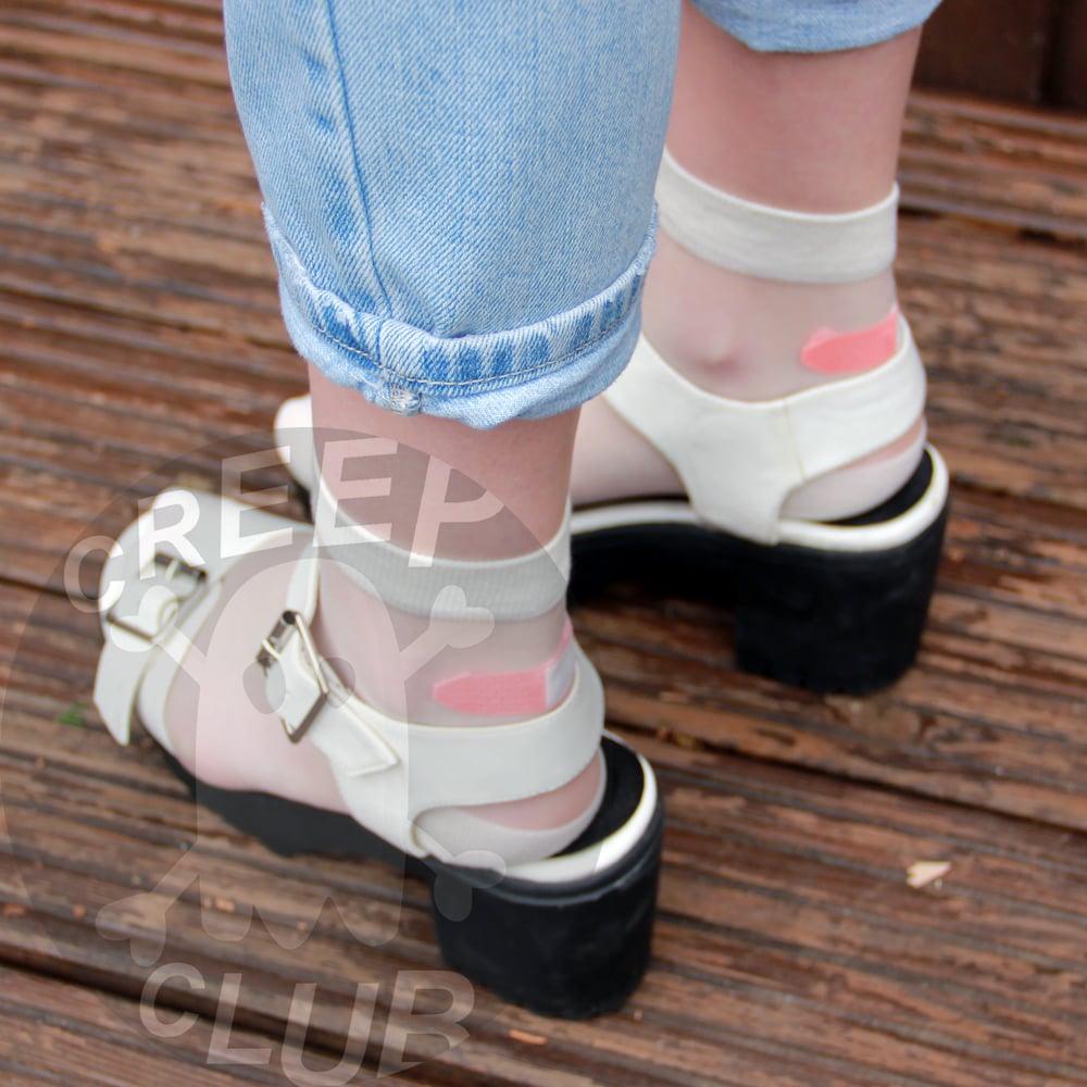 Mesh Bandaid Socks