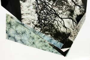 Image of Interstitial Geometries I - Original Collage