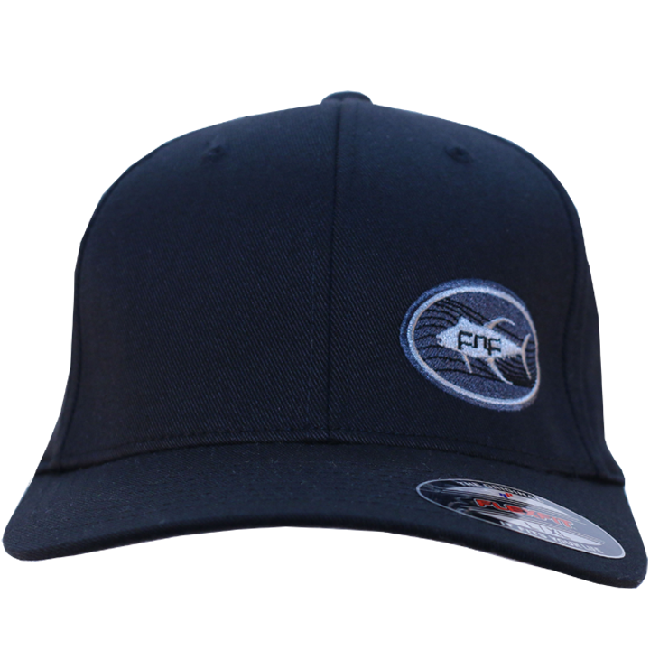 Image of Tuna Emblem Fitted Hat (black)