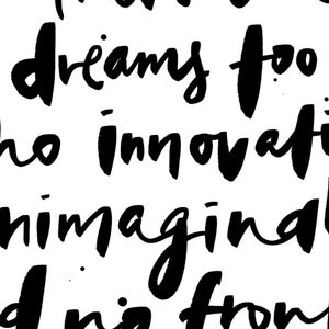 Image of Dream Big Print