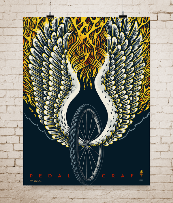 Image of PedalCraft Screenprint Poster