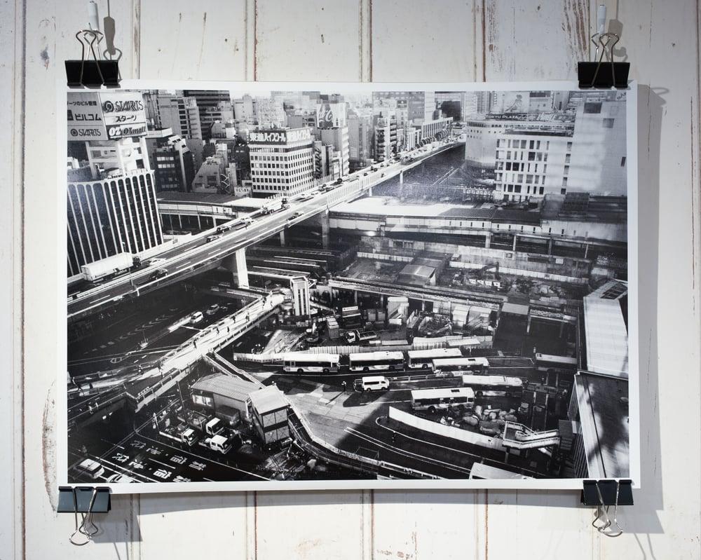 Image of Shibuya Station, 2015