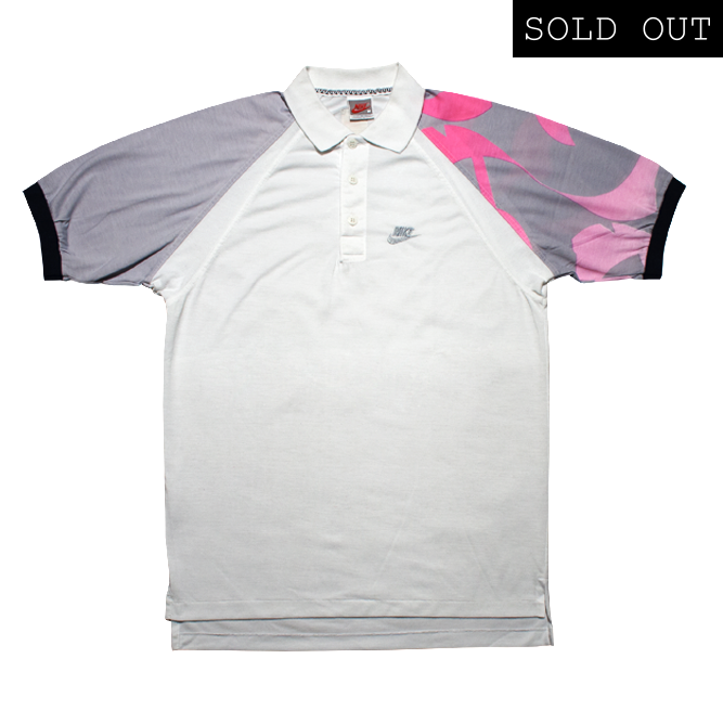 5088ca47f Nike Challenge Court Agassi Vintage Polo Tennis 89 / Rocca Sport