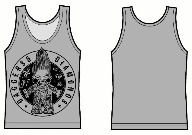 Image of Troll Life Unisex Vest/Tank Top Grey