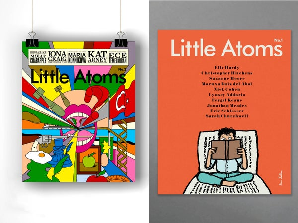 Image of Little Atoms magazine issues 1+2 bundle