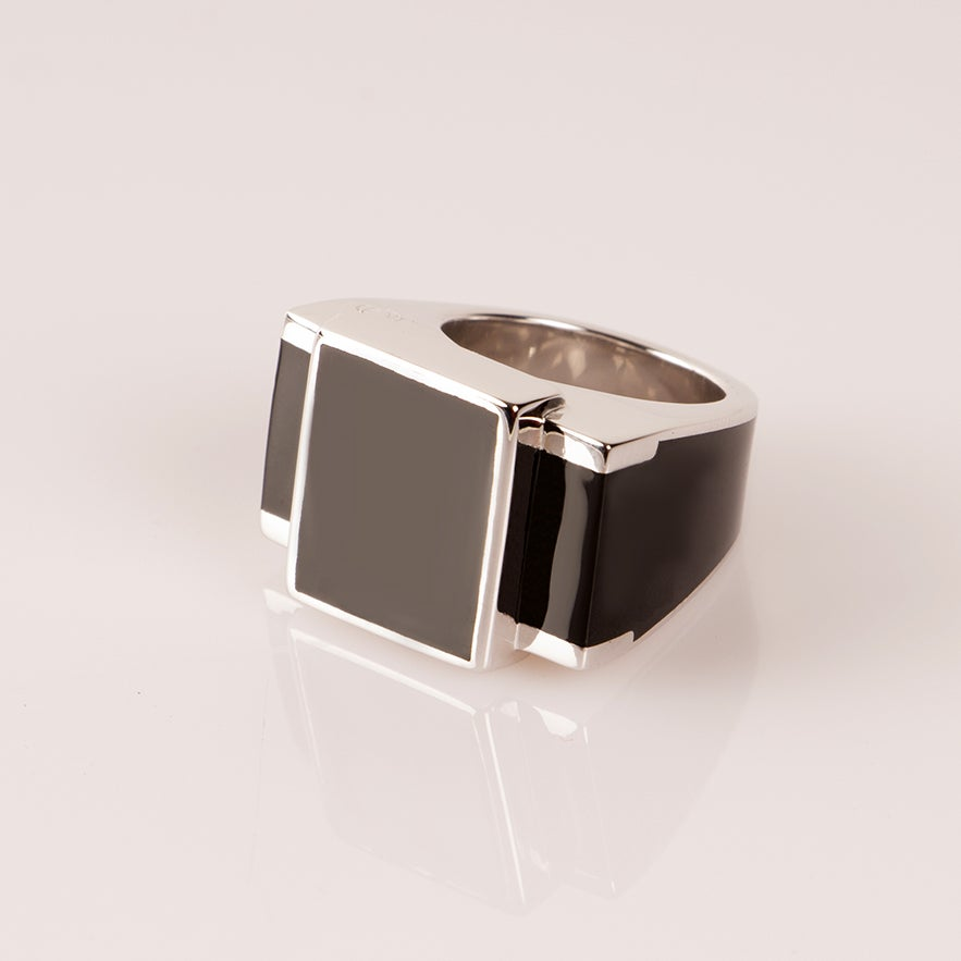 Image of Bague One Argent
