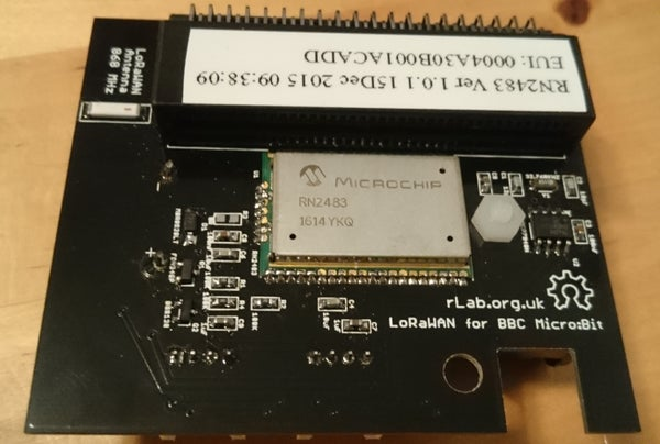 Image of LoRaWAN shield for BBC micro:bit
