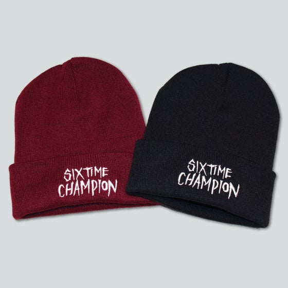 Image of Six Time Champion Beanie