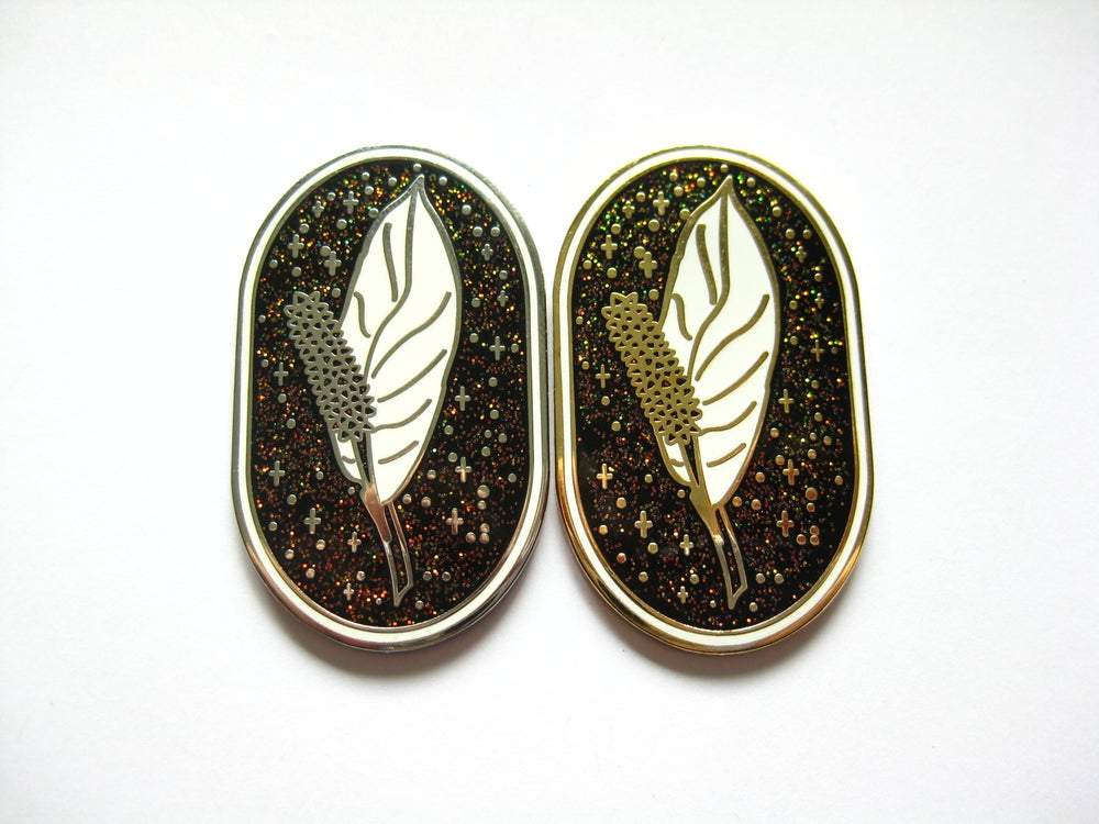 Image of The Peace Lily Pin