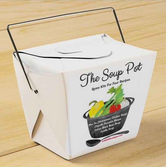 """Image of Take-Out Gift Set """"The Soup Pot"""" Spice Kits"""