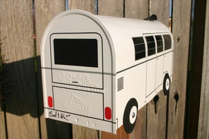 Image of 11 Window Splitty Volkswagen Bus Mailbox by TheBusBox - Choose your color VW