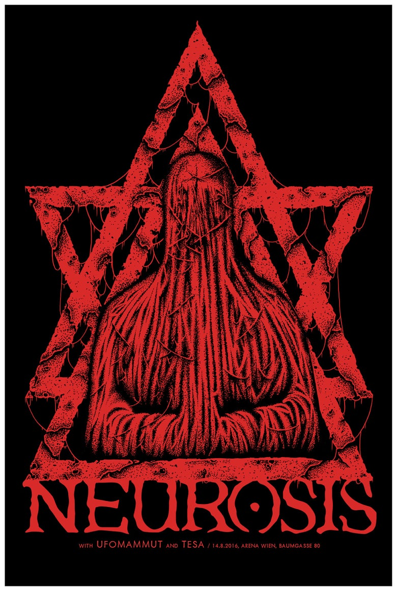 Image of DHG006 - Neurosis - RED