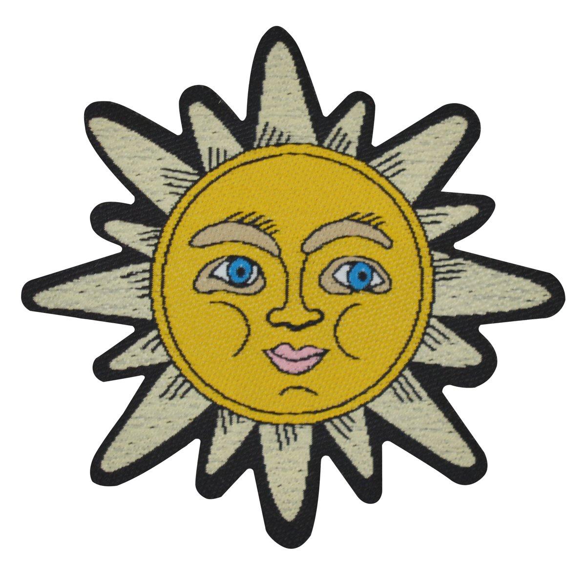 Celestial Sun Iron-on Patch