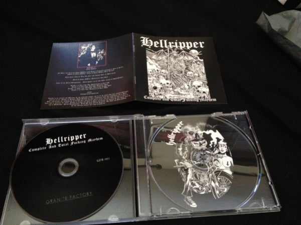 Image of Hellripper - Complete and Total Fucking Mayhem CD
