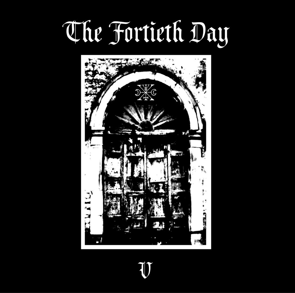 "B!119 The Fortieth Day ""V"" CD"