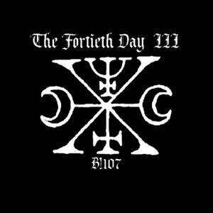 """Image of B!107 The Fortieth Day """"III"""" CD"""