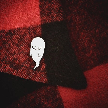 Image of GHOSTING - Enamel Pin