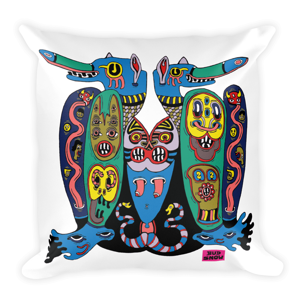"Image of Bud Snow ""Valley"" Pillow (18""x18"")"