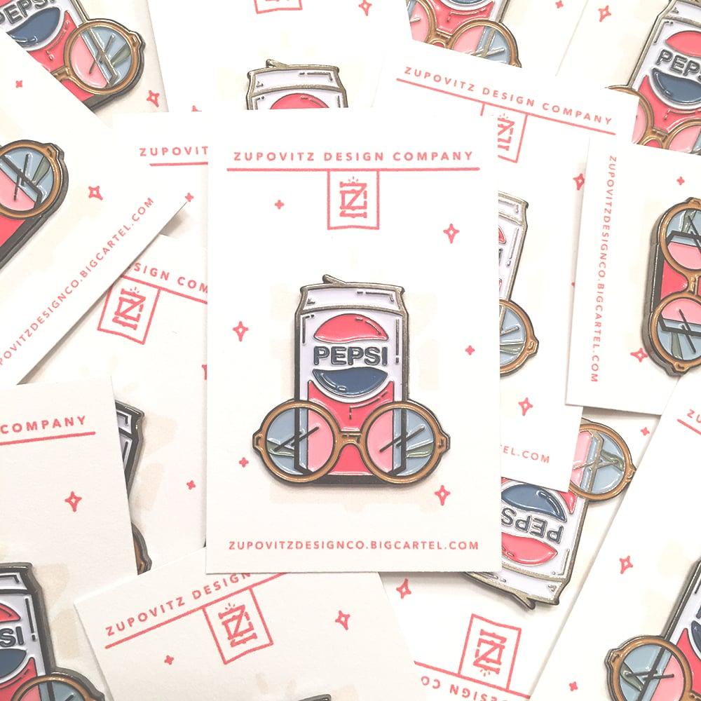 Image of Fuller Pepsi Pin