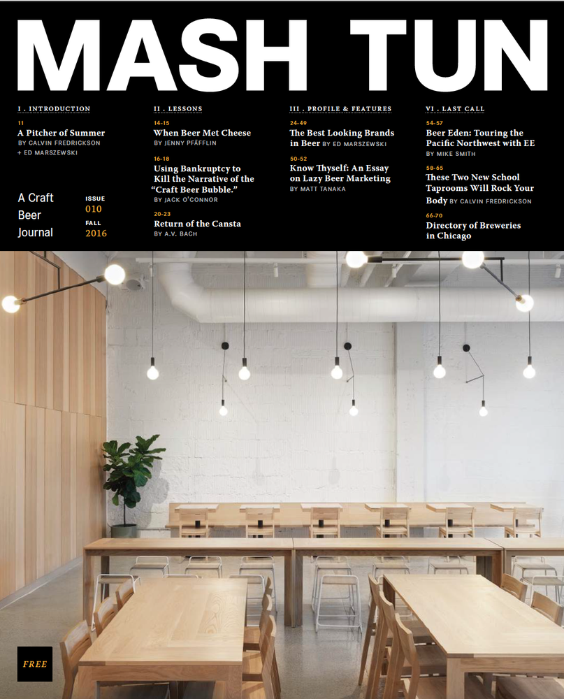 Image of Mash Tun Journal #10