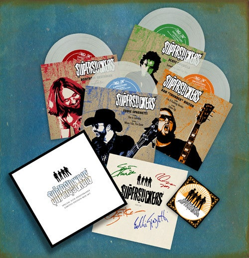 "Image of FR034 Supersucker 7"" Box Set"