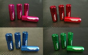 Image of 20pc Aluminum Extended Lug nuts in 12x1.5