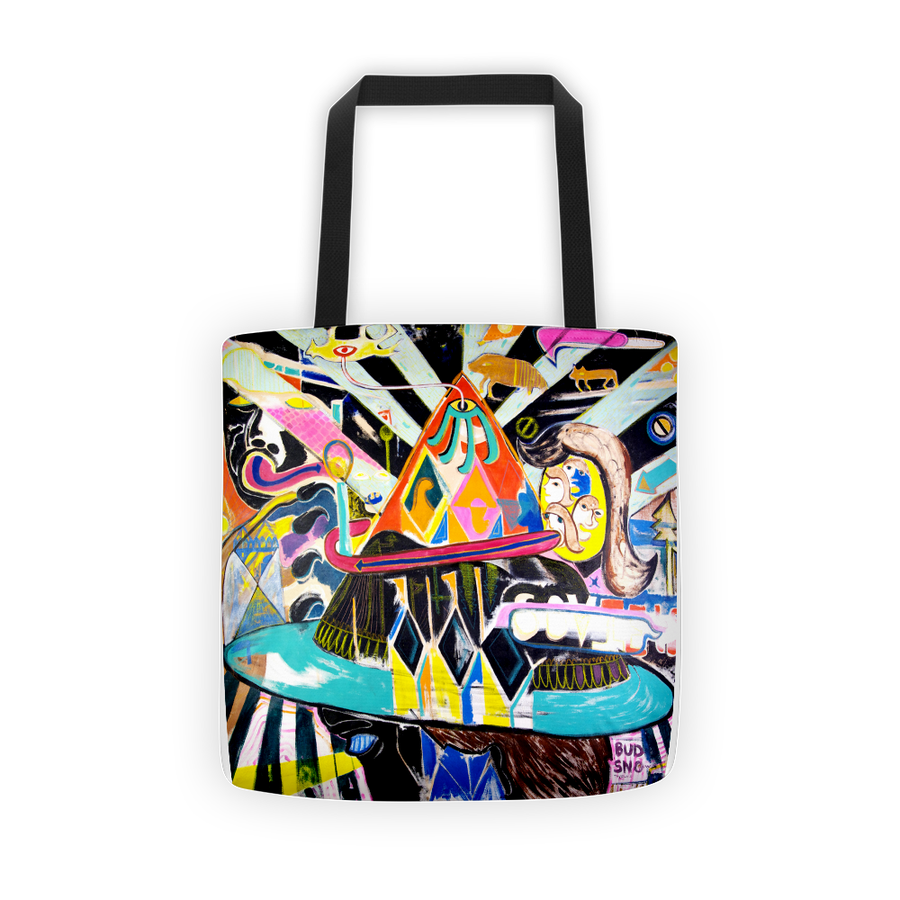 Image of Vision Painting Tote by Bud Snow
