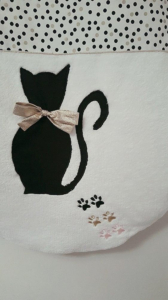 Image of Sur commande: Gigoteuse chat personnalisée hiver