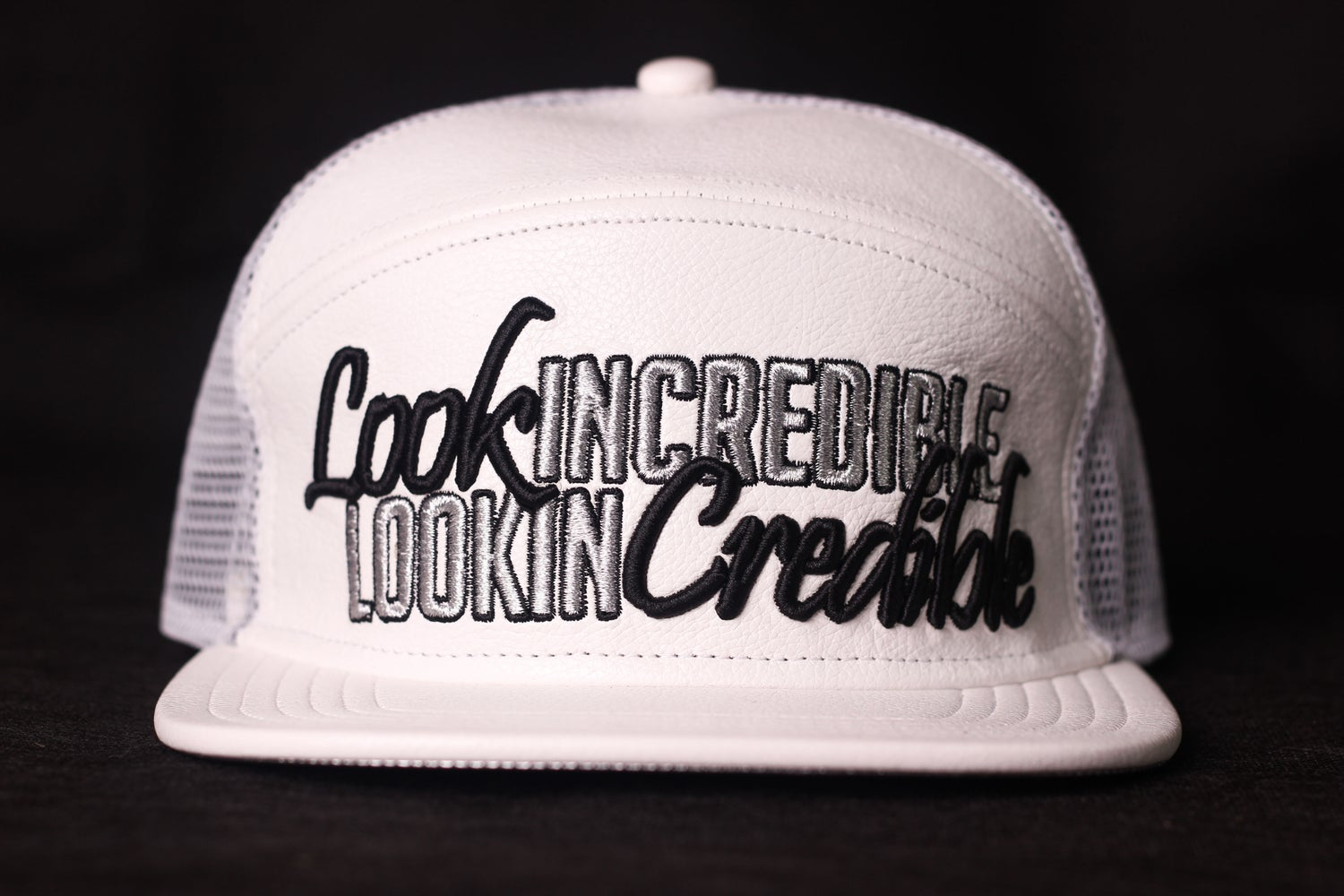 Image of LookinCredible Leather trucker
