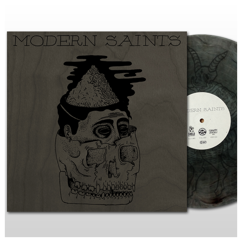 Image of Modern Saints - s/t EP (2016) - BLACK EDITION