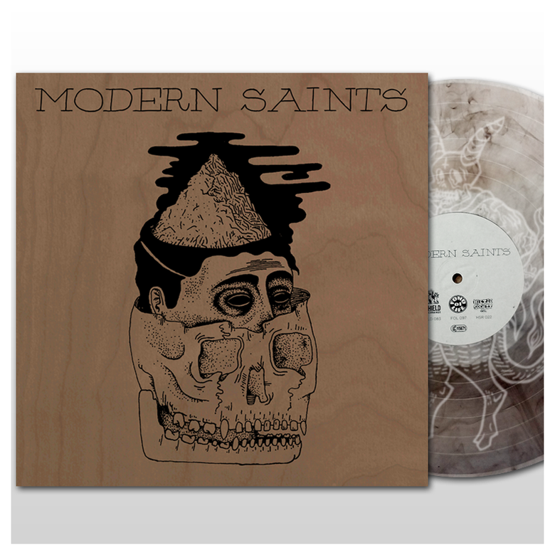 Image of Modern Saints - s/t EP (2016) - BROWN EDITION