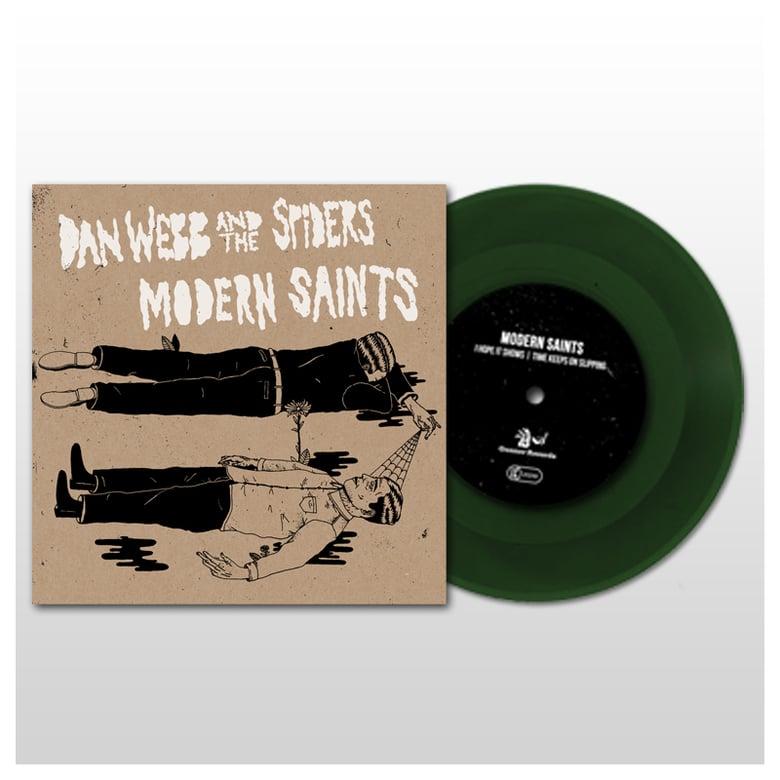 "Image of Modern Saints / Dan Webb And The Spiders - Split 7"" (2016)"