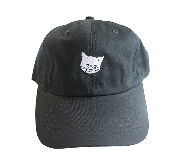 Image of FLUX CAT Hat - Black
