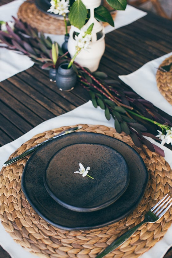 Image of Moon Glaze Place Setting