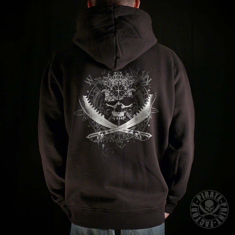 Image of Sweat capuche zip Antik Jolly Roger