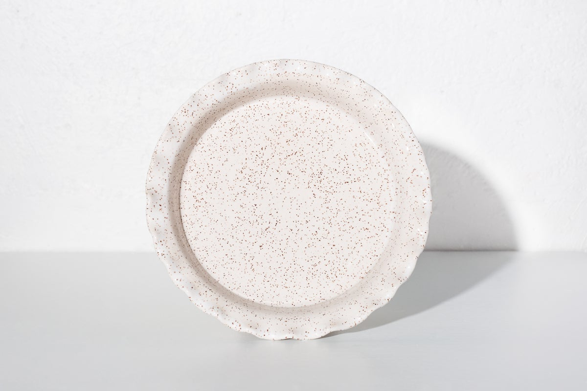 Image of Assiette à tarte Speckles